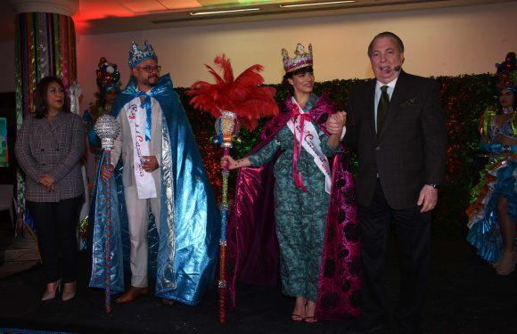 Para Nashla Bogaert y Frank Perozo es un privilegio ser reyes Desfile de carnaval