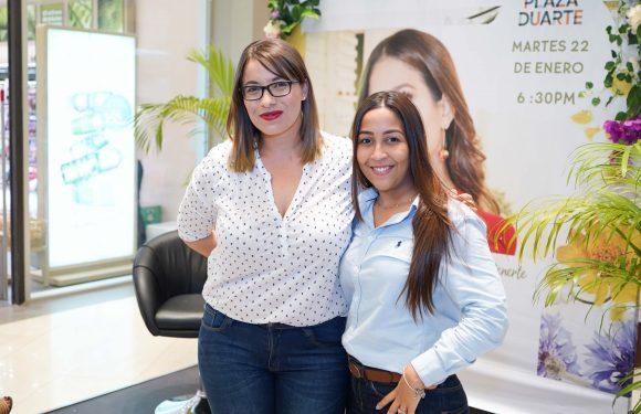 Yves Rocher comparte tendencias de cosmética vegetal con mujer Dominicana .