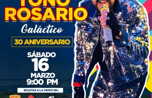 Toño Rosario prepara el más espectacular y alucinante concierto de su exitosa historia musical.
