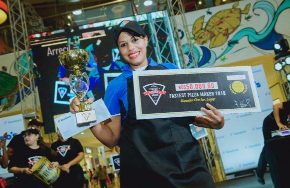 Domino's República Dominicana elige el pizzero más rápido del 2018