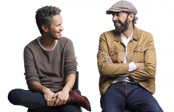 Juan Luis Guerra y Vicente García graban merengue juntos
