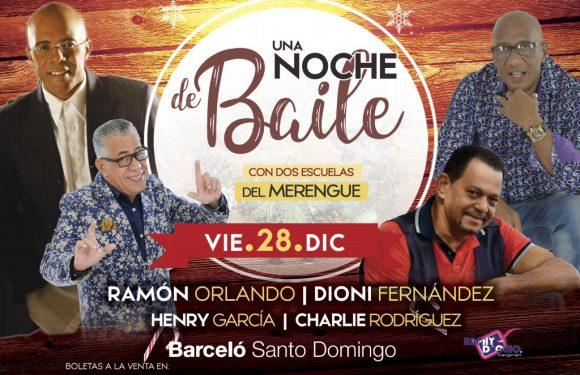 Ramón Orlando y Dioni Fernández en una noche para bailar