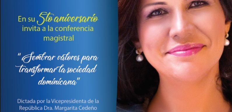 Señales TV celebrará 5to aniversario con una conferencia de Margarita Cedeño sobre valores