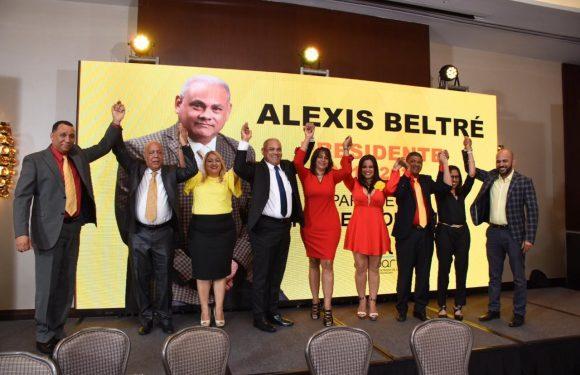Alexis Beltré presenta la plancha con RESPALDO MASIVO